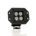 """LZR LED; 3"""" Cube Flush Mount 20w (ea)"""
