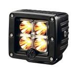 """LED C3; 3"""" Amber Spot Sys 12w (ea)"""