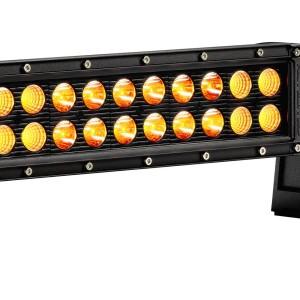 LED C10; 10″ Amber w/ Harness Combo 60w (ea) 1