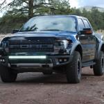 Ford F150/Raptor; C40 LED Bar & Frt Brkt Kit 09-14