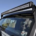 Jeep JK; Overhead Mount C50 LED Bar & Brkt Kit 07-14
