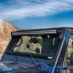 Jeep TJ; Overhead Mount C50 LED Bar & Brkt Kit 97-06