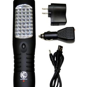 LED Work Light Flashlight; Rechargeable 1