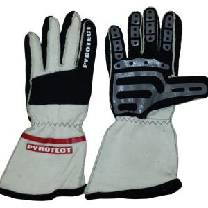 Pro Series Gloves SFI-5 White